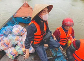 Thủy Tiên đã trở về nhà sau 1 tuần hỗ trợ bà con vùng lũ