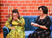 Nghệ sĩ Phạm Huyền Trâm bật khóc khi phát hiện chồng ngoại tình
