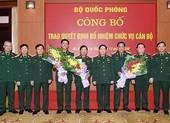 Bộ Quốc phòng trao quyết định bổ nhiệm 2 tân Thứ trưởng