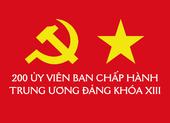 Infographic: 200 Ủy viên Ban chấp hành Trung ương khoá XIII