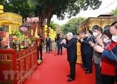 Tổng Bí thư, Chủ tịch nước dâng hương ở Hoàng Thành Thăng Long