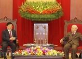 Tổng Bí thư, Chủ tịch nước tiếp Bộ trưởng Công an Trung Quốc