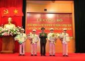 3 Đại tá công an được thăng hàm lên Thiếu tướng