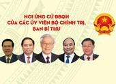 Các Ủy viên Bộ Chính trị, Ban Bí thư ứng cử ĐBQH ở đâu?