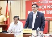 Đã trình Bộ Chính trị, Ban Bí thư 179 nhân sự diện TW quản lý