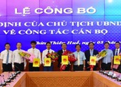 Bổ nhiệm Giám đốc 3 sở ở Thừa Thiên Huế