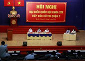 Đổi lịch tiếp xúc cử tri tại quận 2, quận 9 và huyện Hóc Môn