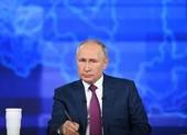 Phản ứng 'gắt' của ông Putin khi được hỏi về vấn đề Ukraine, biển Đen