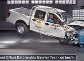 Thử nghiệm va chạm 64 km/h, xe Trung Quốc 'nát bét'