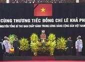 Nhiều lãnh đạo đến viếng nguyên Tổng Bí thư Lê Khả Phiêu