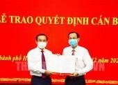 Ông Lê Thanh Liêm sang làm Trưởng Ban Nội chính Thành ủy