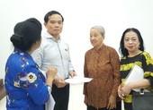 Ông Trần Lưu Quang vẫn tiếp xúc cử tri ở TP.HCM