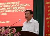 Ông Nguyễn Thành Phong cam kết tận tụy vì sự phát triển của TP