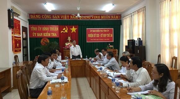 Kỷ luật 12 đảng viên liên quan đến ông Huỳnh Văn Nén