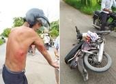 Rút dao đâm người sau va chạm giao thông để cướp xe