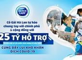 """""""Vạn ly sữa, vạn yêu thương"""" cho TP.HCM, Bình Dương của Cô Gái Hà Lan"""