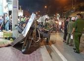 Xe ba gác cuốn chết người đàn ông ở Bình Chánh