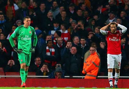HLV Wenger gạch tên Arsenal khỏi cuộc đua vô địch