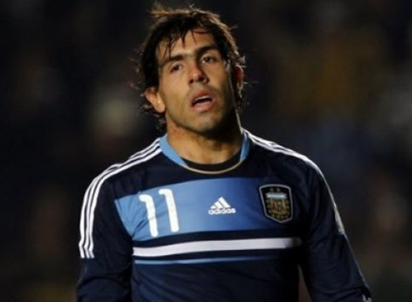 Tevez vắng mặt ở World Cup 2014