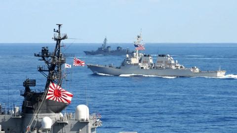 Nhật Bản, Hiến pháp hòa bình, phòng vệ tập thể