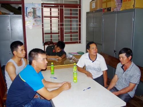 4 người khai nhận là cán bộ công chức Cảng Hải Phòng bị bắt giữ về hành vi đánh bạc