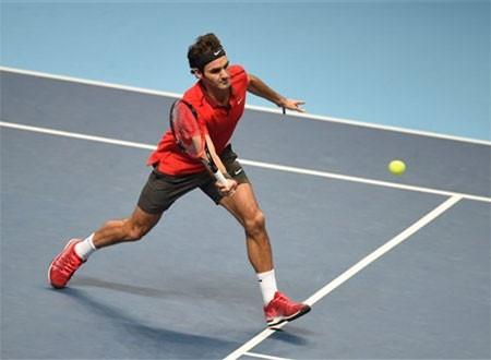 Federer đang có được phong độ thi đấu tốt