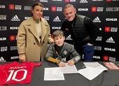 Rooney con ký hợp đồng với MU
