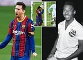 Messi lập kỷ lục ghi bàn 'cực khủng'
