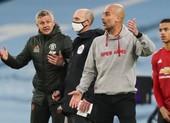 Pep Guardiola lên tiếng về sự cố với Solskjaer