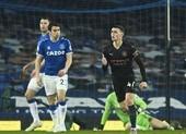 Đánh bại Everton, Man. City nới rộng khoảng cách với MU