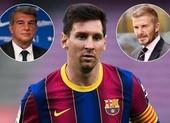Barcelona cùng Beckham đề nghị Messi ký hợp đồng 10 năm
