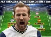 Man City và MU thống trị đội hình tiêu biểu Premier League