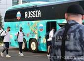 Tuyển Nga về nước trong sự bảo vệ của an ninh, mật vụ
