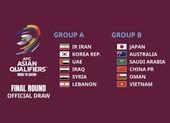 Tuyển VN cùng bảng với Nhật, Úc, Trung Quốc ở vòng loại World Cup