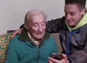 Cụ ông 100 tuổi khiến Messi ngỡ ngàng và cảm động