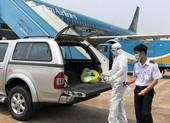 Khử trùng toàn bộ các chuyến bay quốc tế về Việt Nam