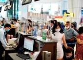 Sân bay Nội Bài lắp vách ngăn giọt bắn tại quầy giao tiếp