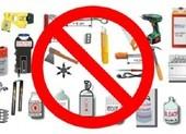 Từ 7-5, những vật phẩm nguy hiểm này bị cấm mang lên máy bay