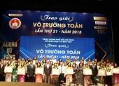 50 cán bộ quản lý và giáo viên TP.HCM đạt giải Võ Trường Toản
