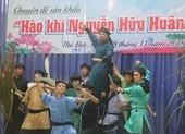 Hào hứng xem diễn Thủ Khoa Huân tại ngôi trường mang tên ông