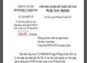 Học sinh ở Cần Thơ học trực tuyến sau tết vì COVID-19