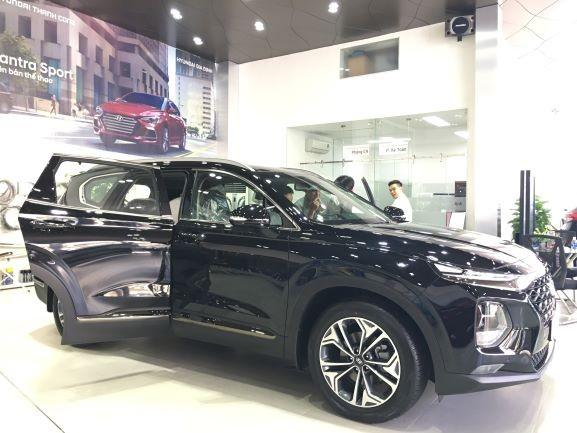 Giá bán hiện tại của Hyundai SantaFe 2.2L chỉ còn 1,145 tỉ đồng