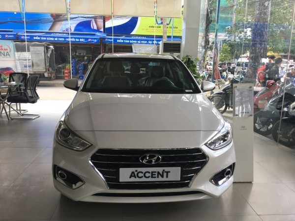 Doanh số mẫu Hyundai Accent tăng trưởng vượt trội trong năm 2019.