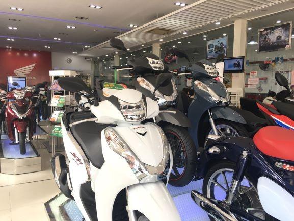 Honda SH được trang bị khóa Smartkey cao cấp.