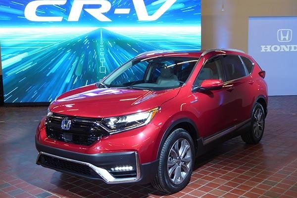 Honda CR-V 2020 được tinh chỉnh lại đậm chất thể thao hơn.