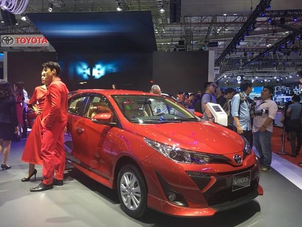 Toyota Vios dần bị mất vị trí