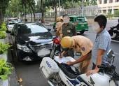Ô tô dừng, đỗ sai quy định có thể bị phạt đến 12 triệu đồng