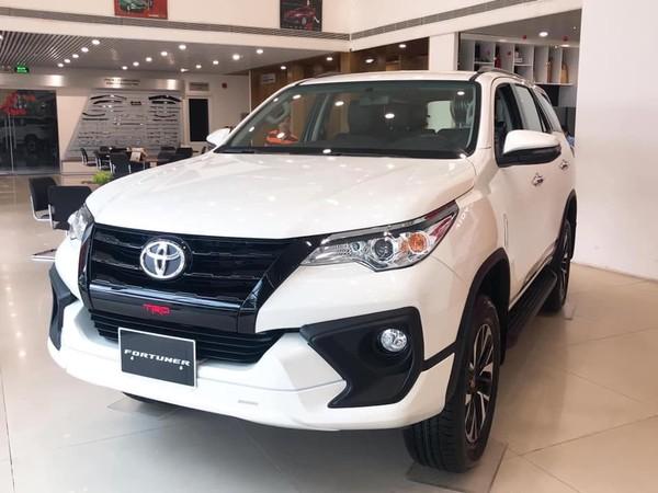 Toyota Fortuner được ưu đãi dành cho nhiều phiên bản.