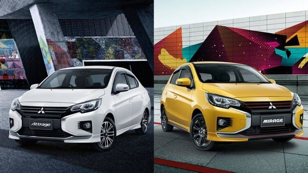 Có khả năng bộ đôi Mitsubishi Attrage và Mirage sẽ cùng ra mắt tại Việt Nam.