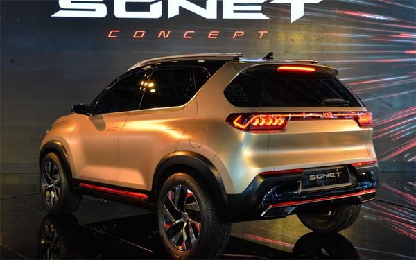 Kia Sonet sẽ là một đối thủ đáng gườm cùng Hyundai Kona.